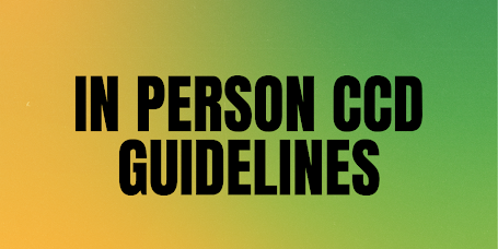 in person ccd guidelines banner